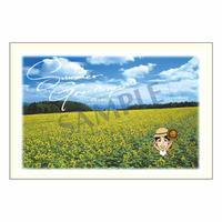 メッセージカード/季節の便り/10-0467(似顔絵ver)/1セット(10枚)