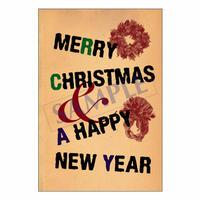 メッセージカード クリスマス 10-0487 1セット(10枚)