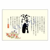 メッセージカード 年末便り 11-0550 1セット(10枚)