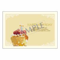 メッセージカード バースデー 11-0539 1セット(10枚)