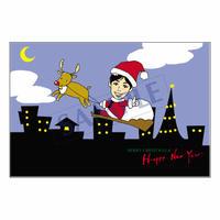メッセージカード クリスマス 07-0240 1セット(10枚)
