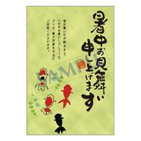 メッセージカード  季節の便り  13-0617  1セット(10枚)