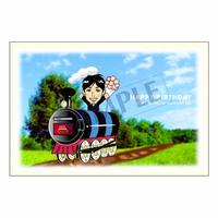 メッセージカード バースデー 11-0534(似顔絵ver) 1セット(10枚)