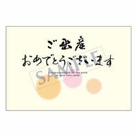 メッセージカード  出会い 感謝 お祝い ご挨拶 06-0183  1セット(10枚)