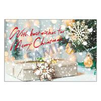 メッセージカード/クリスマスカード/21-0987/1セット(10枚)