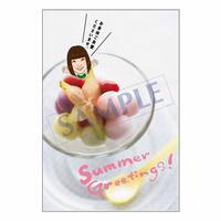メッセージカード/季節の便り/13-0634(似顔絵ver)/1セット(10枚)