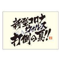 メッセージカード/暑中見舞い/20-0950/1セット(10枚)