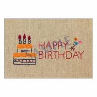 メッセージカード バースデー 14-0660 1セット(10枚)