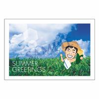 メッセージカード/季節の便り/12-0604(似顔絵ver)/1セット(10枚)
