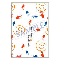 メッセージカード/季節の便り/08-0338/1セット(10枚)