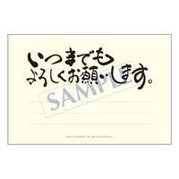 メッセージカード  出会い 感謝 お祝い ご挨拶 03-0016   1セット(10枚)