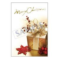 メッセージカード クリスマス 17-0811 1セット(10枚)