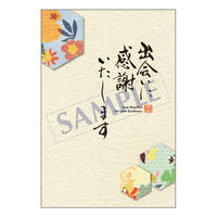 メッセージカード/ご挨拶状/20-0915/1セット(10枚)