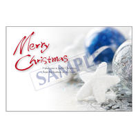 メッセージカード クリスマス 19-0896 1セット(10枚)