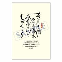 メッセージカード 年末便り 11-0561 1セット(10枚)
