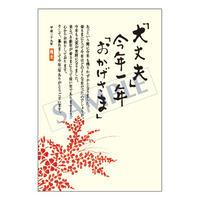 メッセージカード 年末便り 17-0807 1セット(10枚)