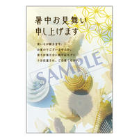 メッセージカード/季節の便り/19-0877/1セット(10枚)
