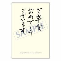 メッセージカード  出会い 感謝 お祝い ご挨拶 05-0140  1セット(10枚)