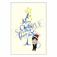 メッセージカード クリスマス 07-0241 1セット(10枚)