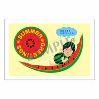 メッセージカード/季節の便り/14-0711(似顔絵ver)/1セット(10枚)