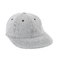 """ONLY"" Hickory Striped Polo Hat"
