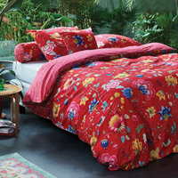 Pip studio ダブルサイズ Floral Fantasy RED