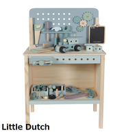Little Dutch (リトルダッチ)木製Werkbank48セット