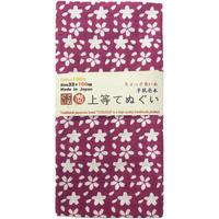 〔手拭壱本〕ちょっと長めの100センチ 上等手ぬぐい 大桜柄(約33×約100㎝)