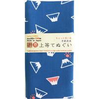 〔手拭壱本〕ちょっと長めの100センチ 上等手ぬぐい 富士山 柄(約33×約100㎝)