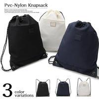 [REGiSTA]PVC Nylon Knapsack(縦45cmx横36cm)