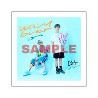 3rd Single「wavy lover」CD