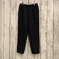 SASHIKO STRETCH SLIM PANTS (BLACK) PC-055-1533 / Porter Classic