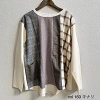 14/-チャンピオン天竺 パネルTシャツ 3204C-008 / Clip.tab