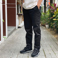 SLIM WORK PANTS (BLACK) / COWDEN