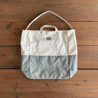 LINED TOOL BAG (WHITE×GREY) 90020800 / BAG'n'NOUN