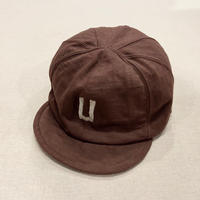 Dotsume  Baseball Cap (Umber Brown) / Jackman