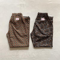CHEFS TROUSERS (Paisley・Flower Print) HF-21SS-01 / HOLD FAST
