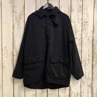 WEATHER SMOCK COAT (BLACK) PC-026-1446 / Porter Classic