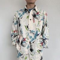 40'S COVERALL(PRINT)  / orSlow
