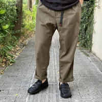 LINEN COTTON LOOSE TAPERD PANTS  / GRAMiCCi