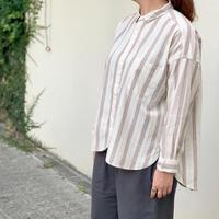 ドビーストライプ レギュラーカラーシャツ  P80156 / prit