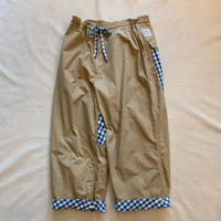 SWISS COTTON WIDE PANTS / Porter Classic