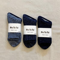 DENIM TONE SOCKS / RoToTo