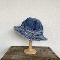 US NAVY HAT(2Year Wash with Print) / orSlow