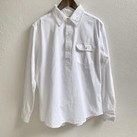 CHAMBRAY PULL OVER SHIRTS (WHITE)  / CAMCO