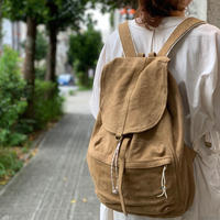 suede backpack / Ghost Dance