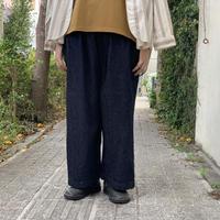 綿麻デニム グランクールパンツ 36-262D / Brocante