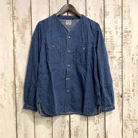 NO COLLAR SHIRT (Denim Used) 01-8073 / orSlow
