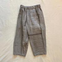 きぶん6月 luzu pants (グレージュ) / tamaki niime