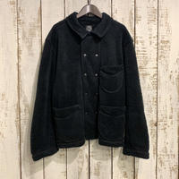 FLEECE FRENCH JACKET (BLACK) PC-022-1450 / Porter Classic